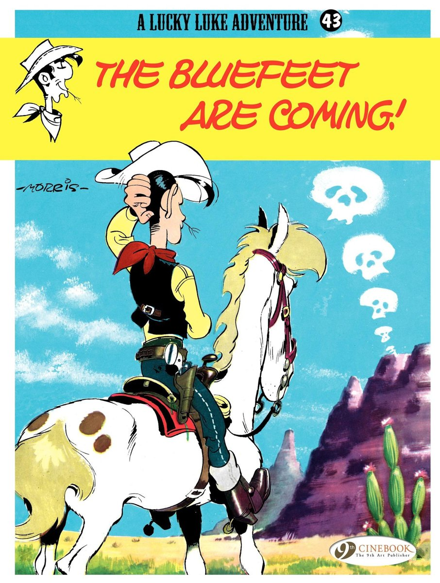 Lucky Luke - Volume 43 - The Bluefeet are coming!