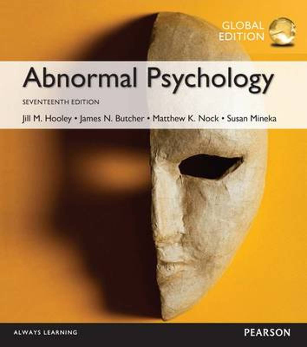 Abnormal Psychology plus MyPsychLab with Pearson eText, Global Edition
