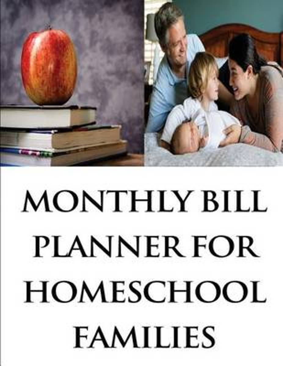 Monthly Bill Planner for Homeschool Families