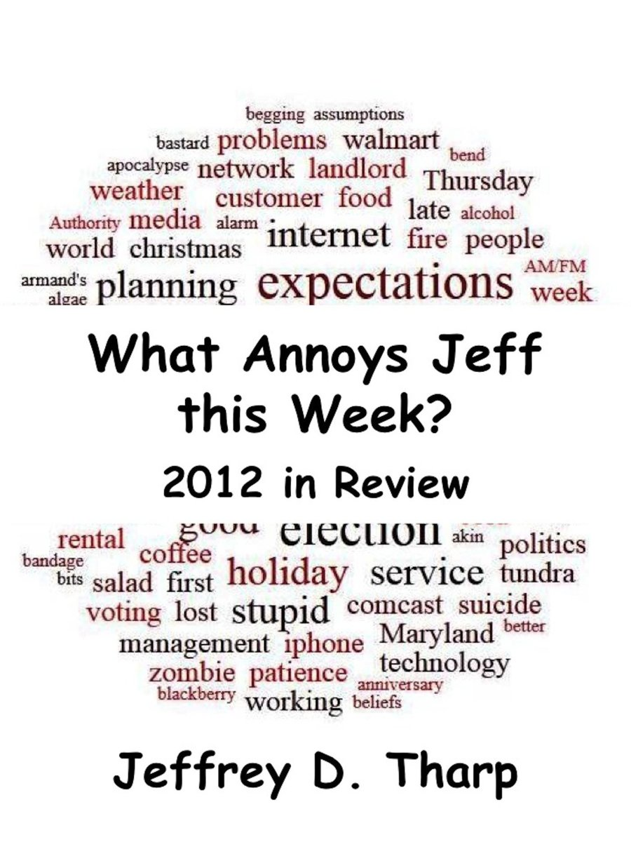 What Annoys Jeff this Week: 2012 in Review