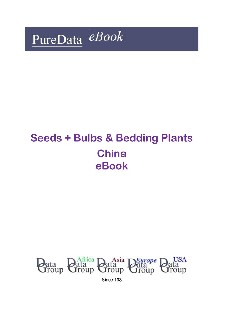 Seeds + Bulbs & Bedding Plants in China