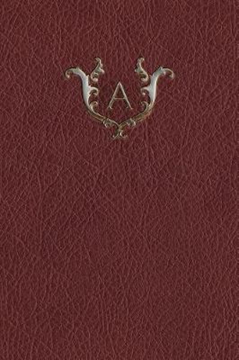 Monogram a Any Day Planner Notebook
