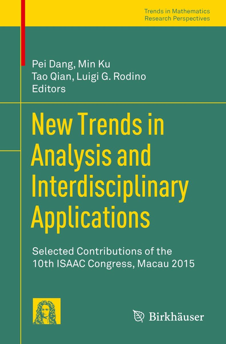 New Trends in Analysis and Interdisciplinary Applications