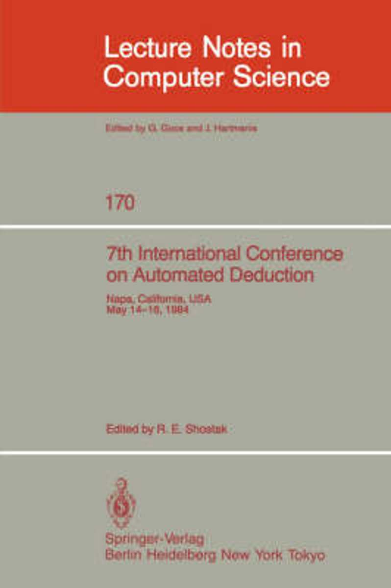 7th International Conference on Automated Deduction