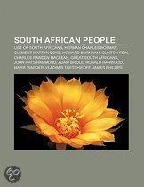 South African People: List Of South Africans, Herman Charles Bosman, Clement Martyn Doke, Howard Burnham, Clinton Fein, Charles Rawden Macle