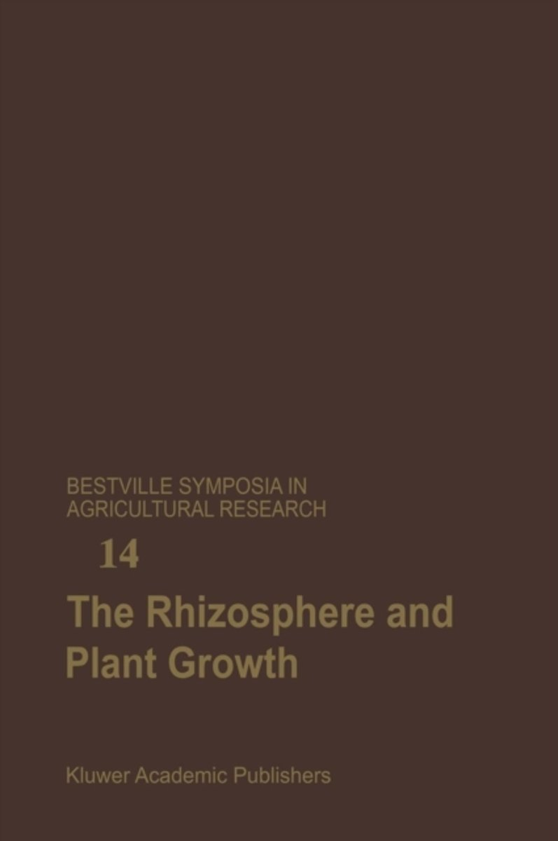 The Rhizosphere and Plant Growth