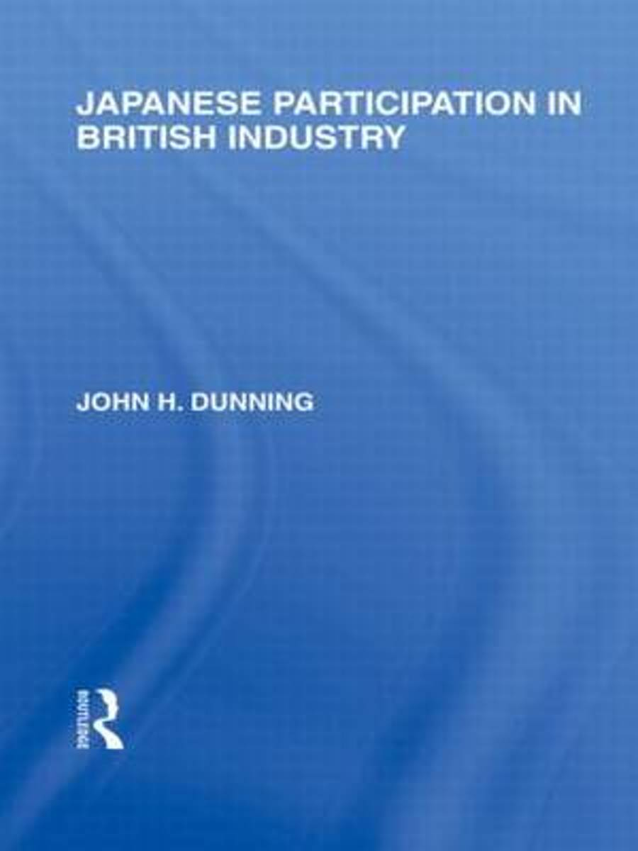 Japanese Participation in British Industry