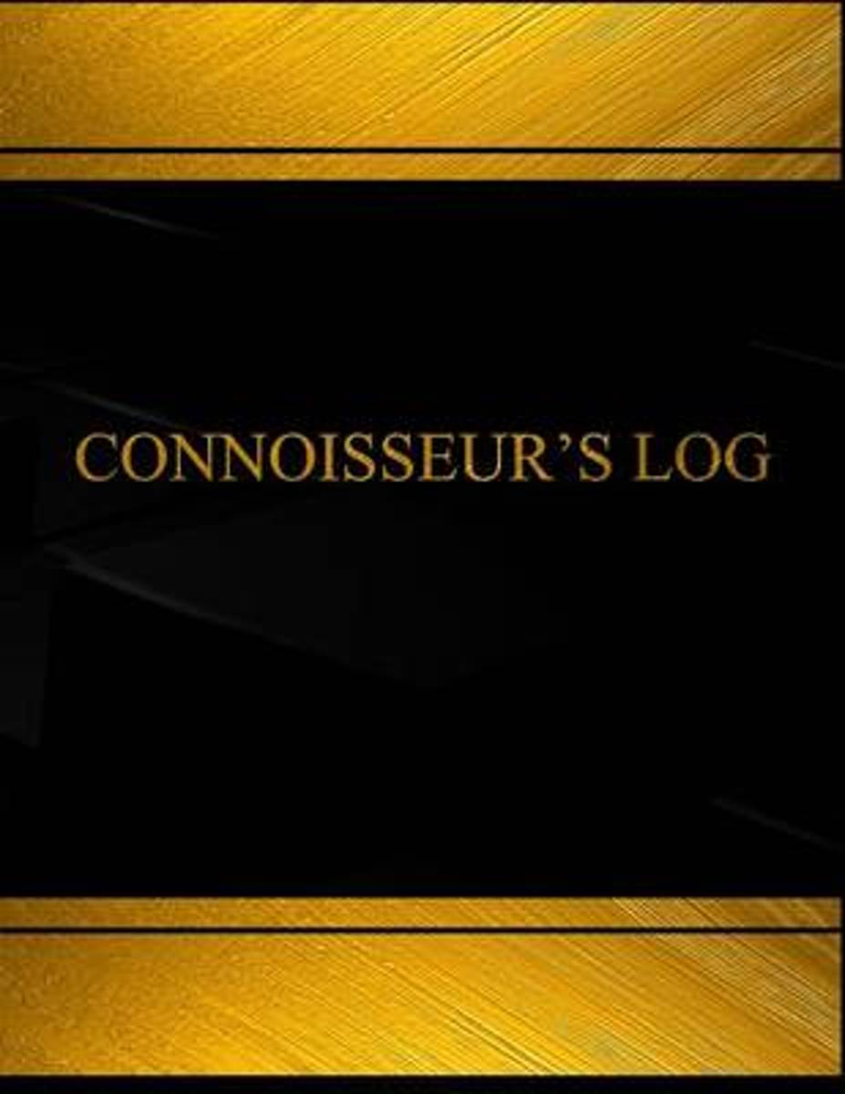 Connoisseur?s Log (Log Book, Journal - 125 Pgs, 8.5 X 11 Inches)