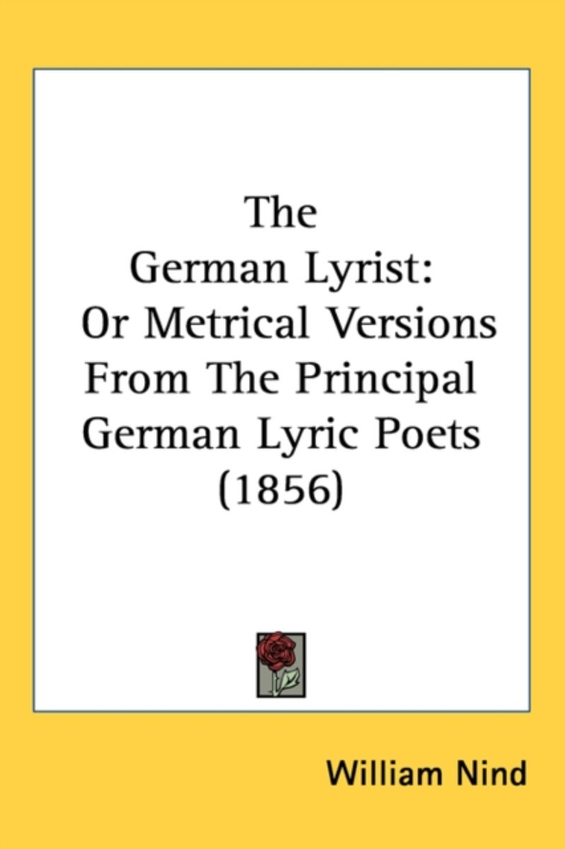 The German Lyrist