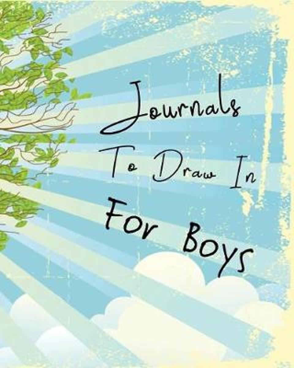 Journals to Draw in for Boys