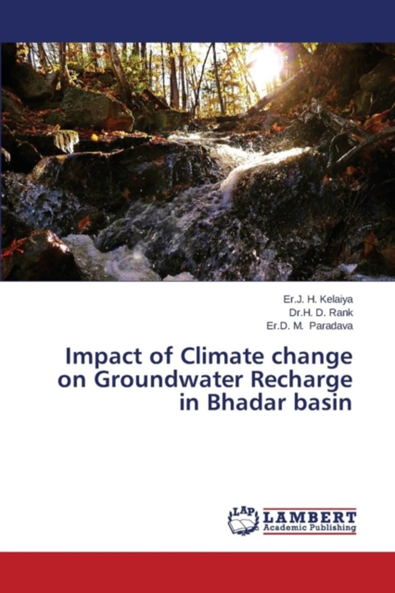 Impact of Climate Change on Groundwater Recharge in Bhadar Basin