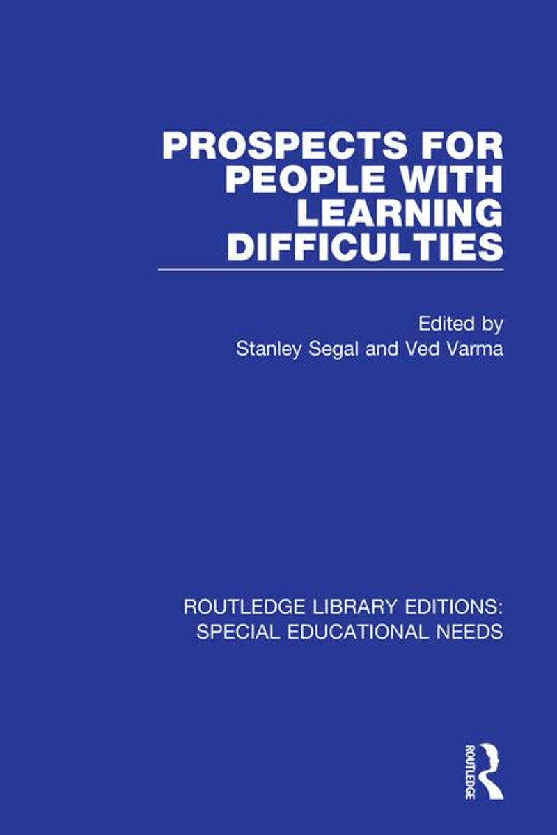 Prospects for People with Learning Difficulties