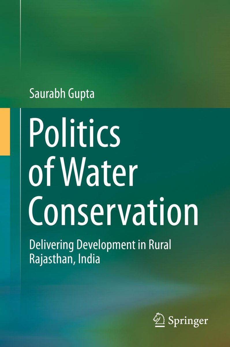 Politics of Water Conservation