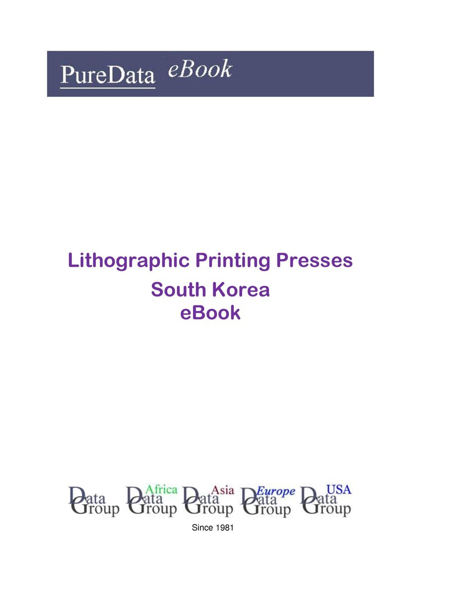 Lithographic Printing Presses in South Korea