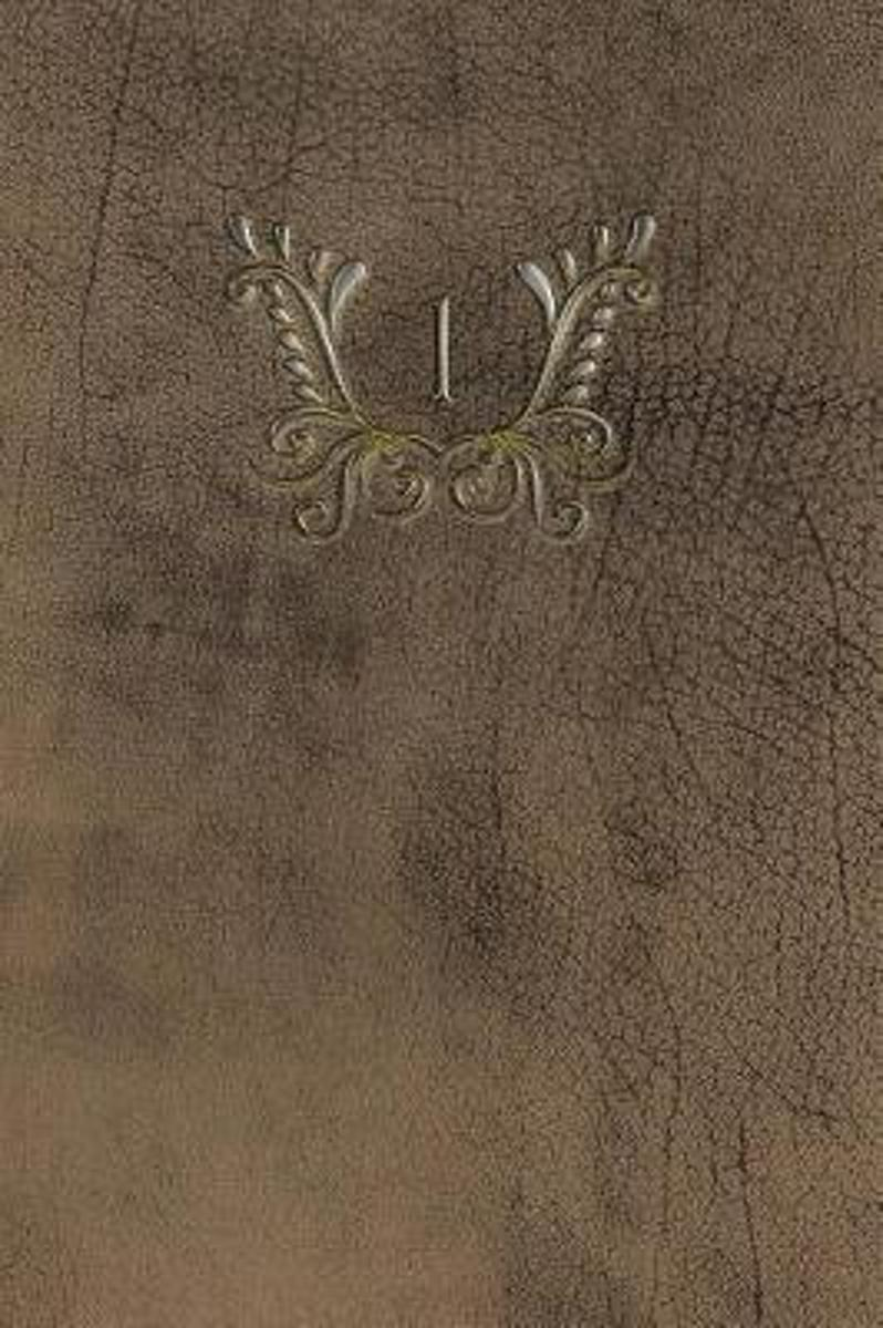 Monogram 1 Any Day Planner Notebook