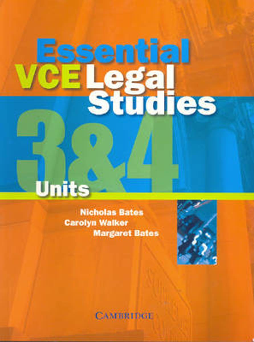 Essential VCE Legal Studies Units 3 and 4