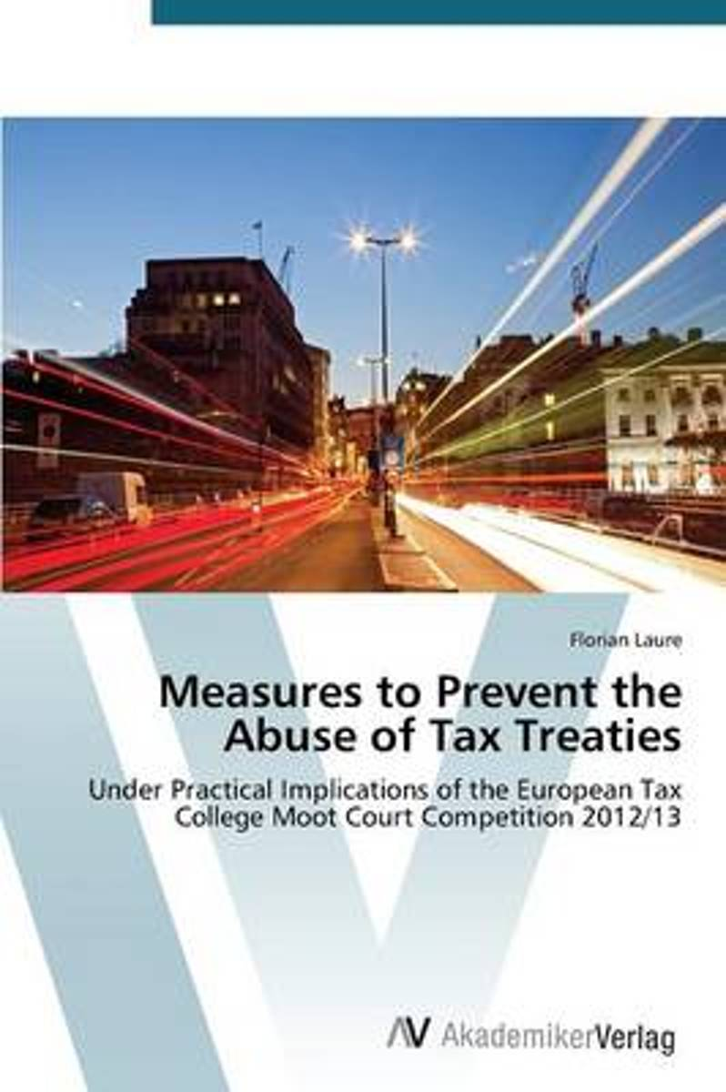 Measures to Prevent the Abuse of Tax Treaties