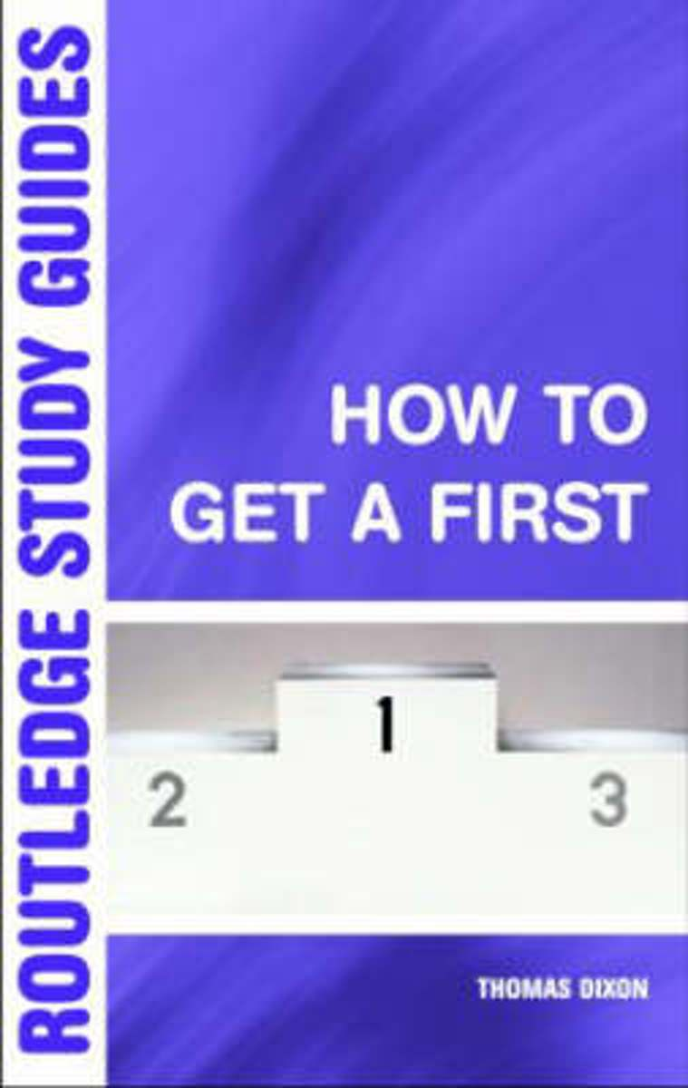 How to Get a First
