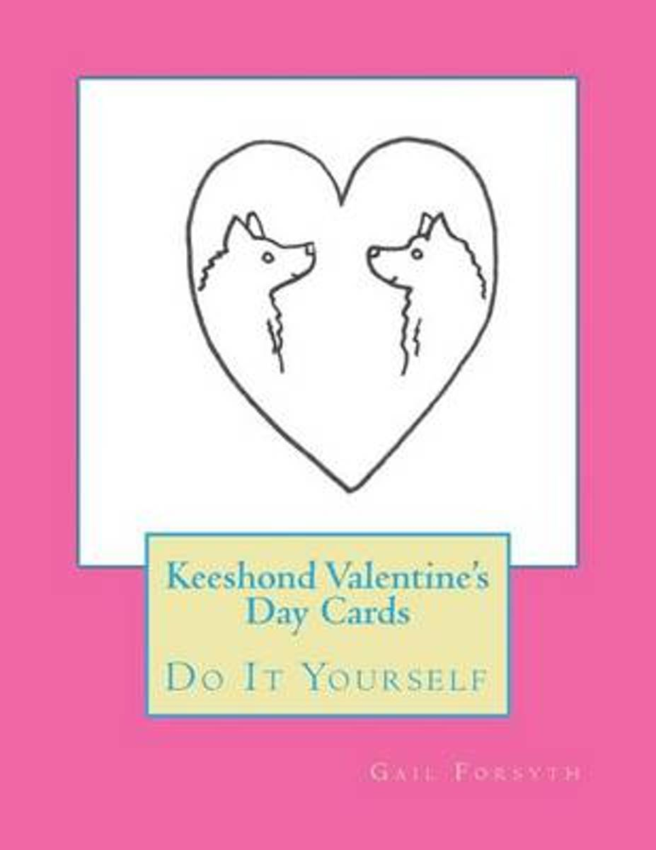 Keeshond Valentine's Day Cards