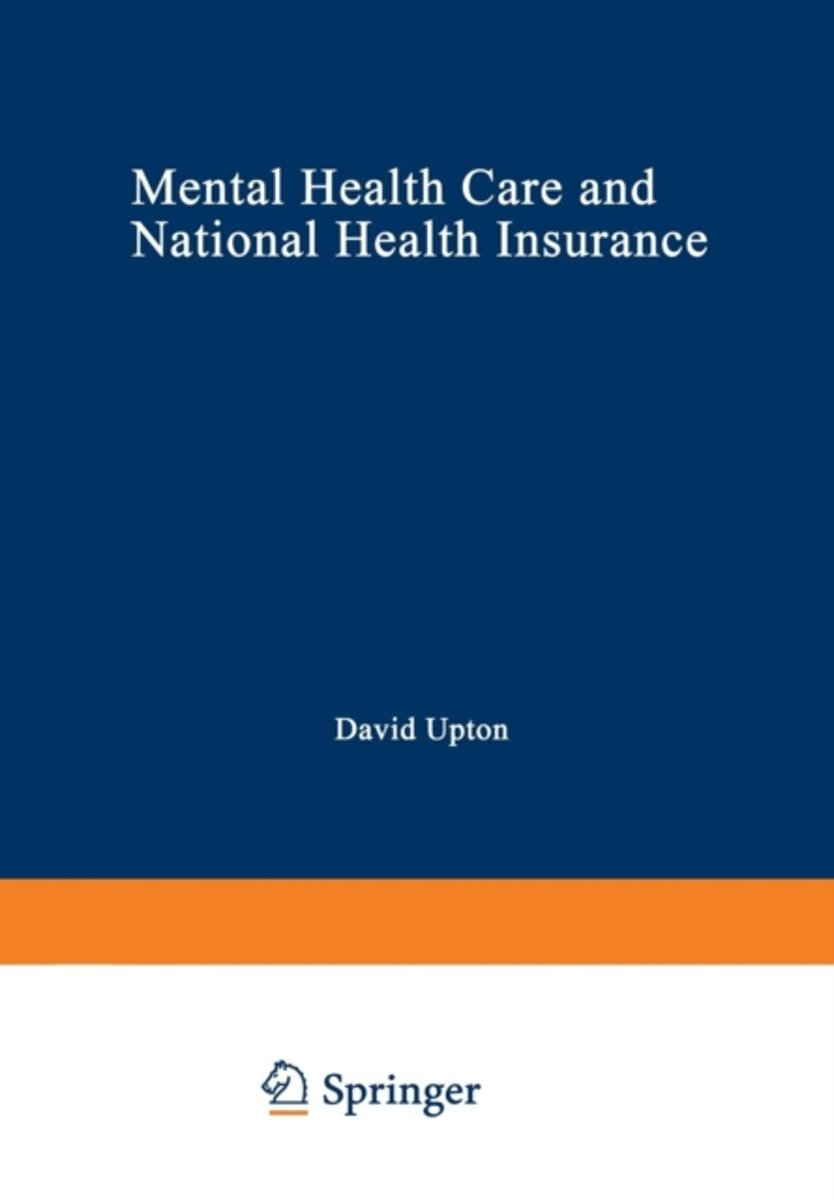 Mental Health Care and National Health Insurance
