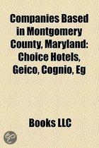 Companies based in Montgomery County, Maryland