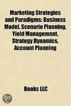 Marketing Strategies and Paradigms: Business Model, Scenario Planning, Yield Management, Strategy Dynamics, Account Planning, Personalization
