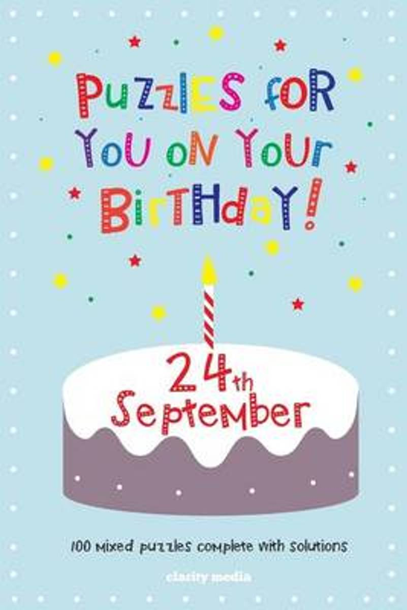 Puzzles for You on Your Birthday - 24th September