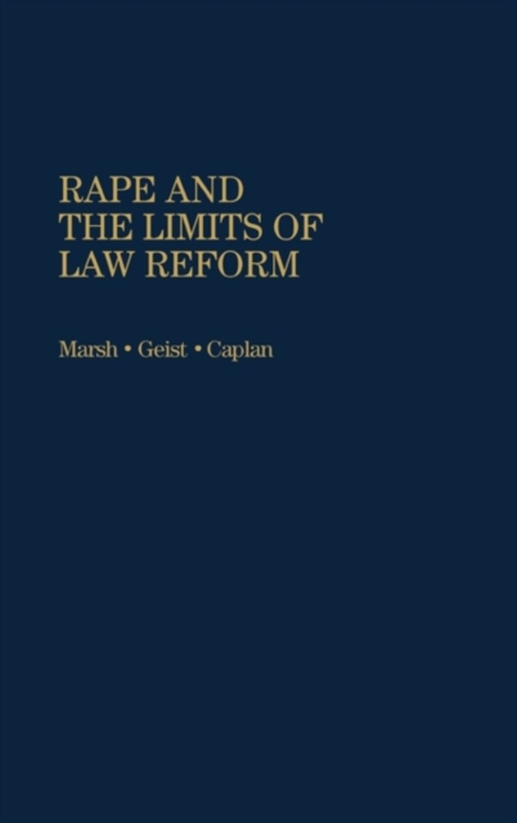 Rape and the Limits of Law Reform