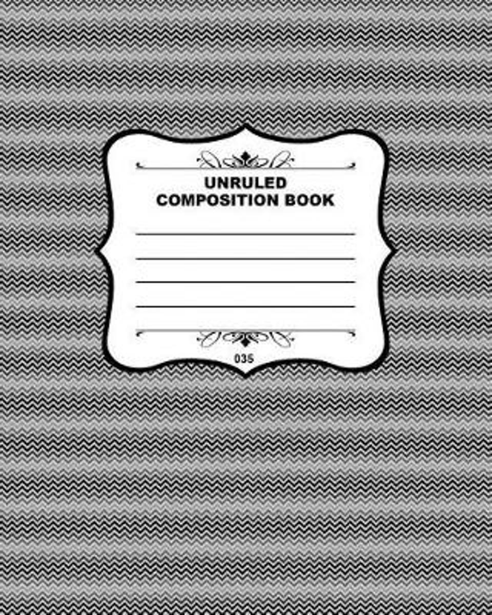 Unruled Composition Book 035