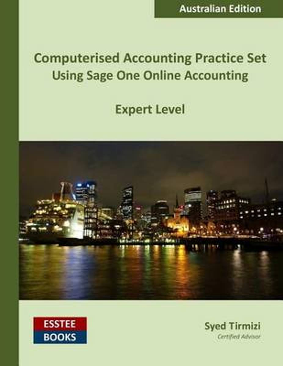 Computerised Accounting Practice Set Using Sage One Online Accounting