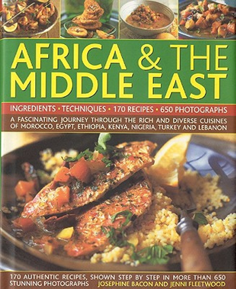 Complete Illustrated Food and Cooking of Africa & the Middle East