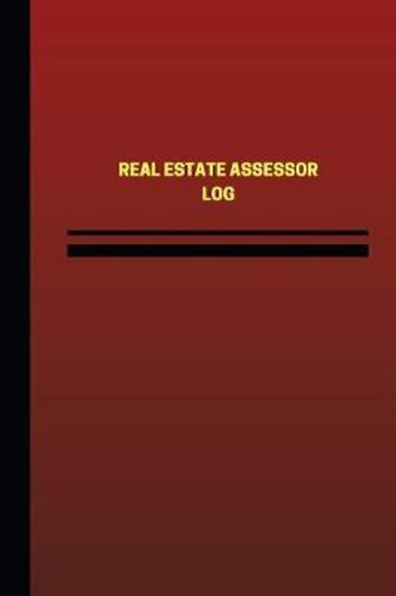 Real Estate Assessor Log (Logbook, Journal - 124 Pages, 6 X 9 Inches)