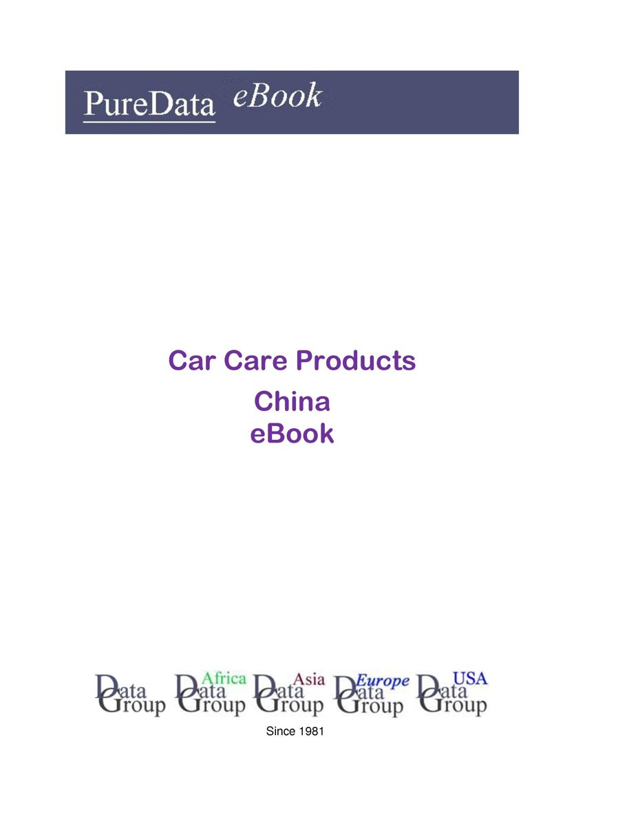 Car Care Products in China