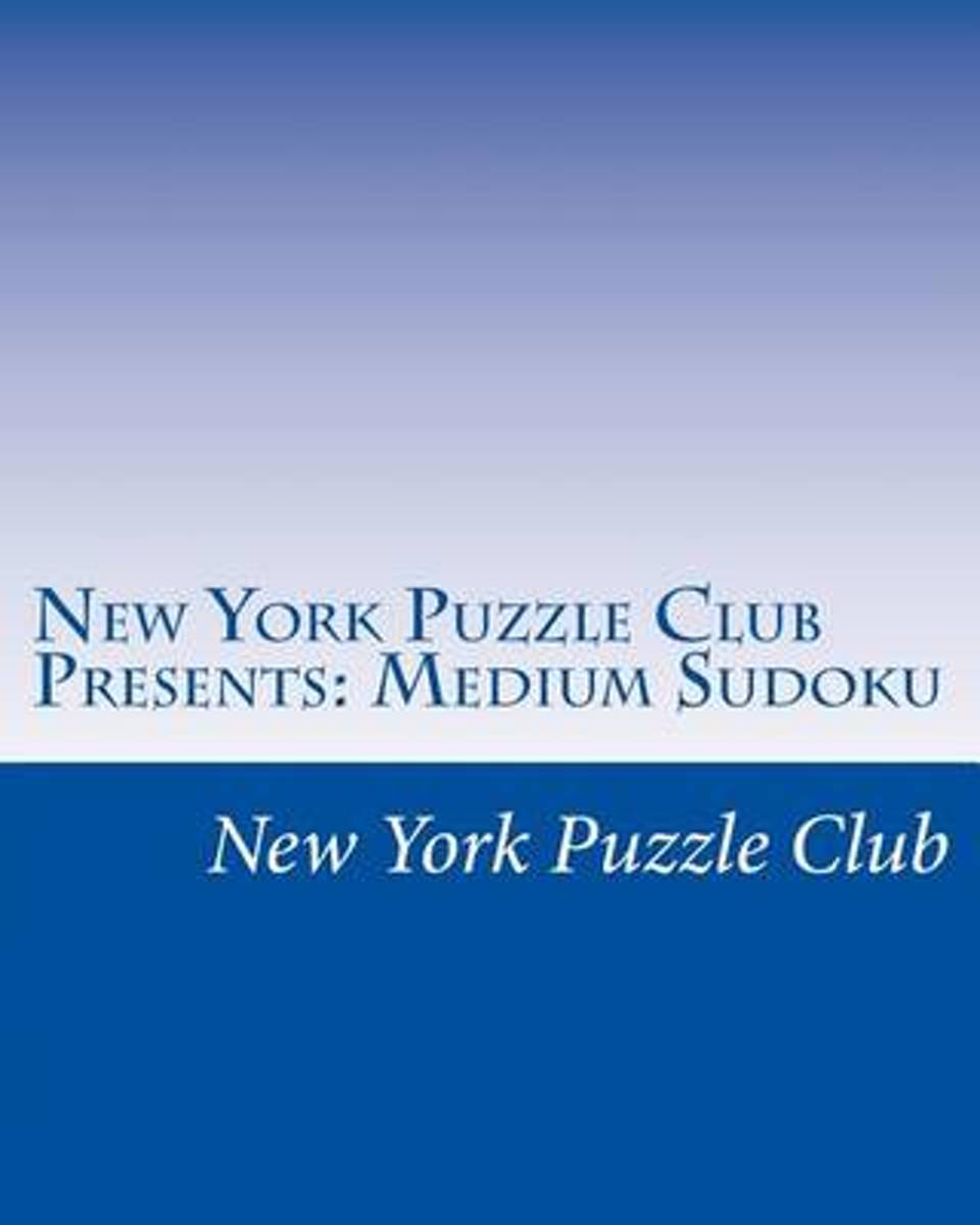 New York Puzzle Club Presents
