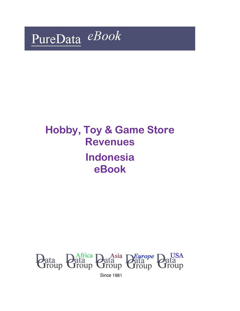 Hobby, Toy & Game Store Revenues in Indonesia