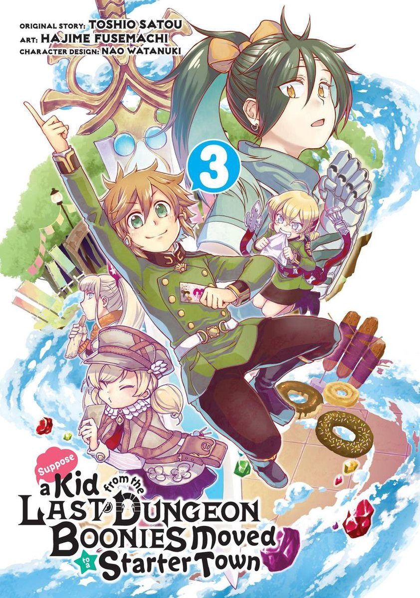 Suppose a Kid from the Last Dungeon Boonies Moved to a Starter Town (Manga) 03