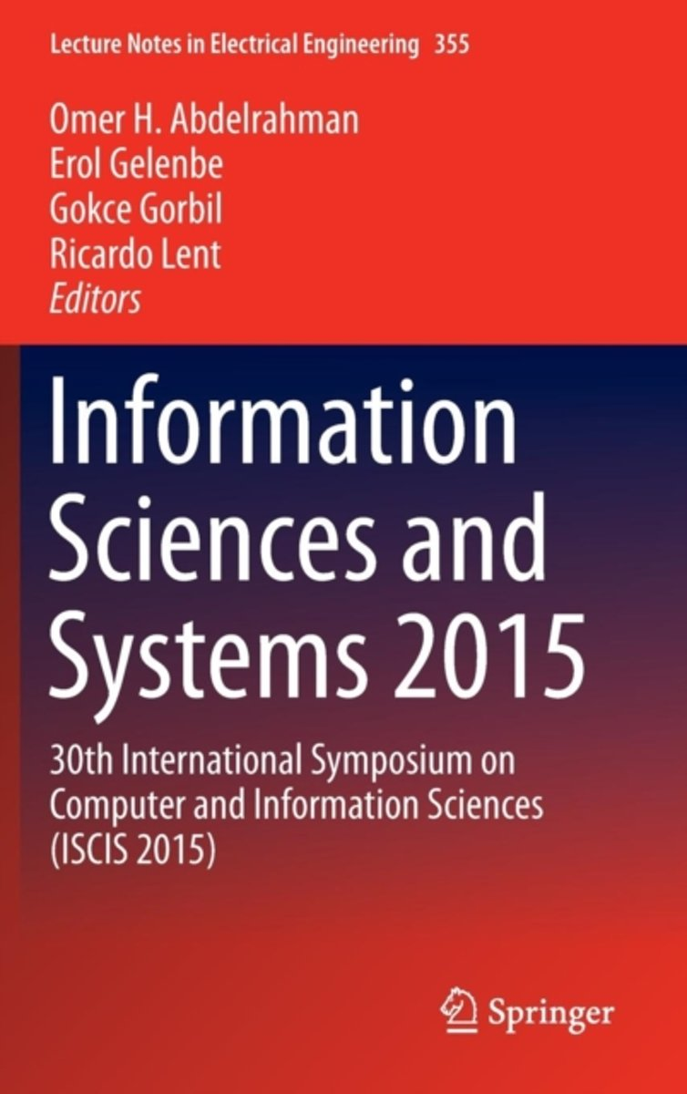 Information Sciences and Systems 2015