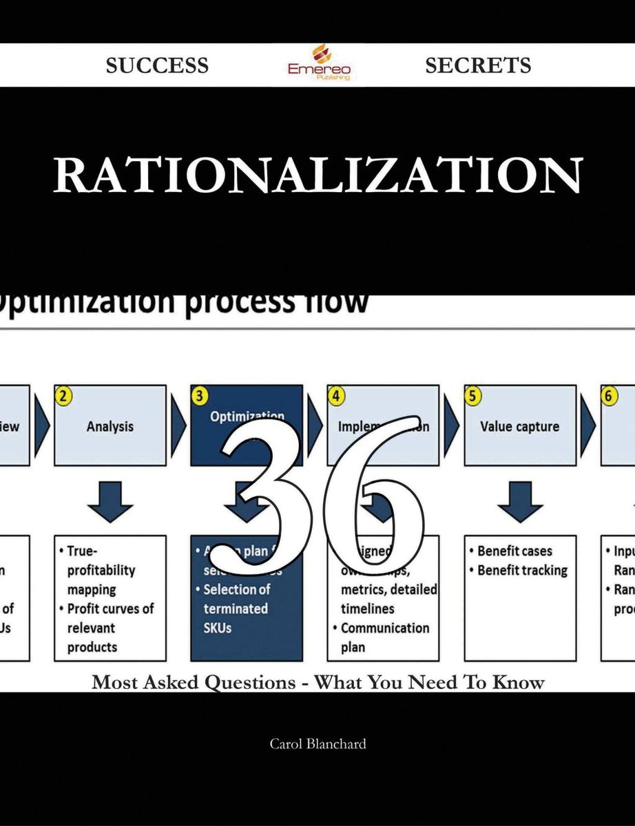 Rationalization 36 Success Secrets - 36 Most Asked Questions On Rationalization - What You Need To Know