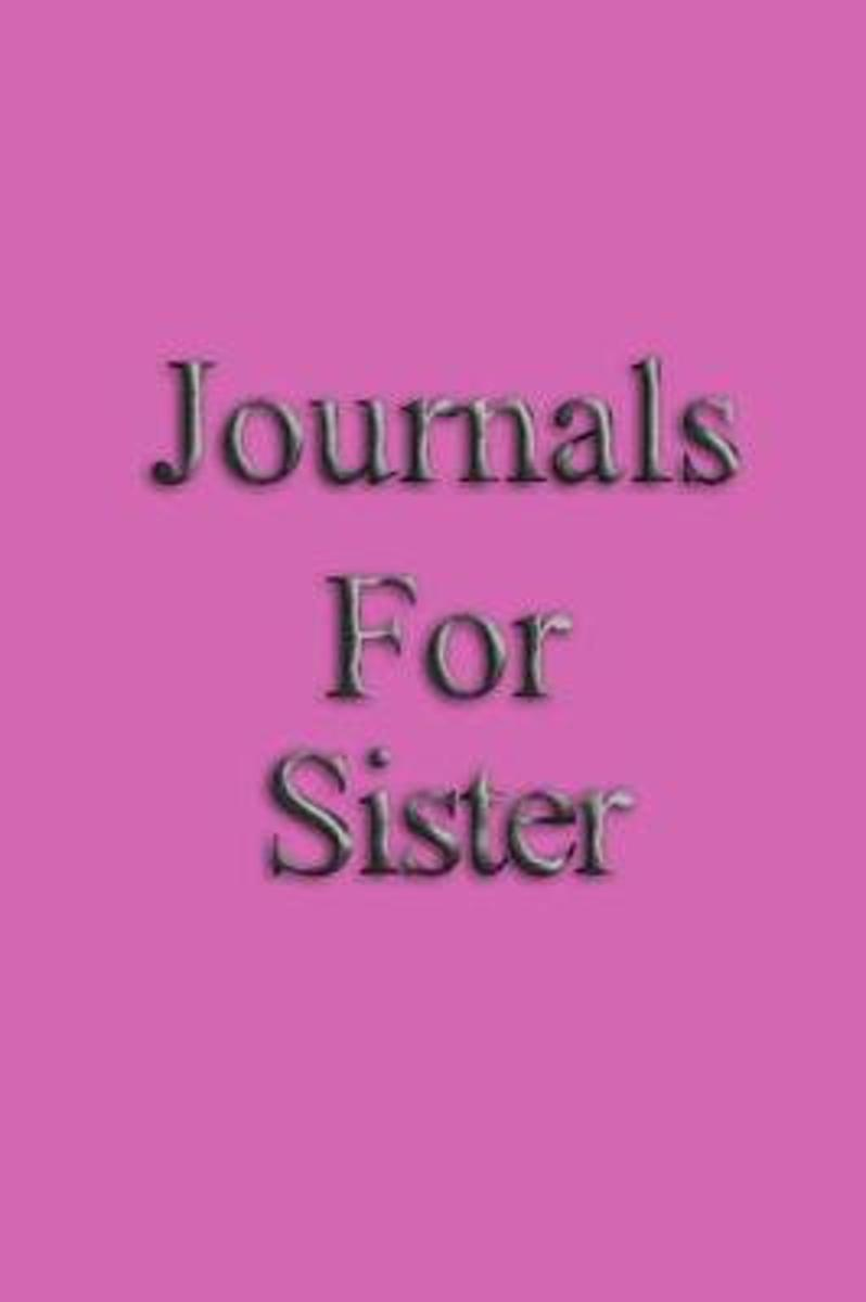 Journals for Sister