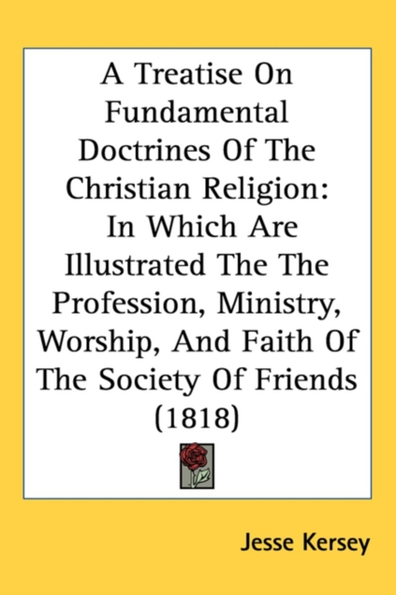 A Treatise On Fundamental Doctrines Of The Christian Religion