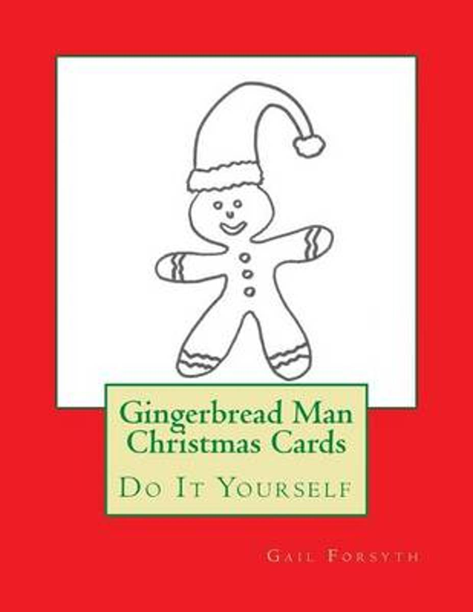 Gingerbread Man Christmas Cards