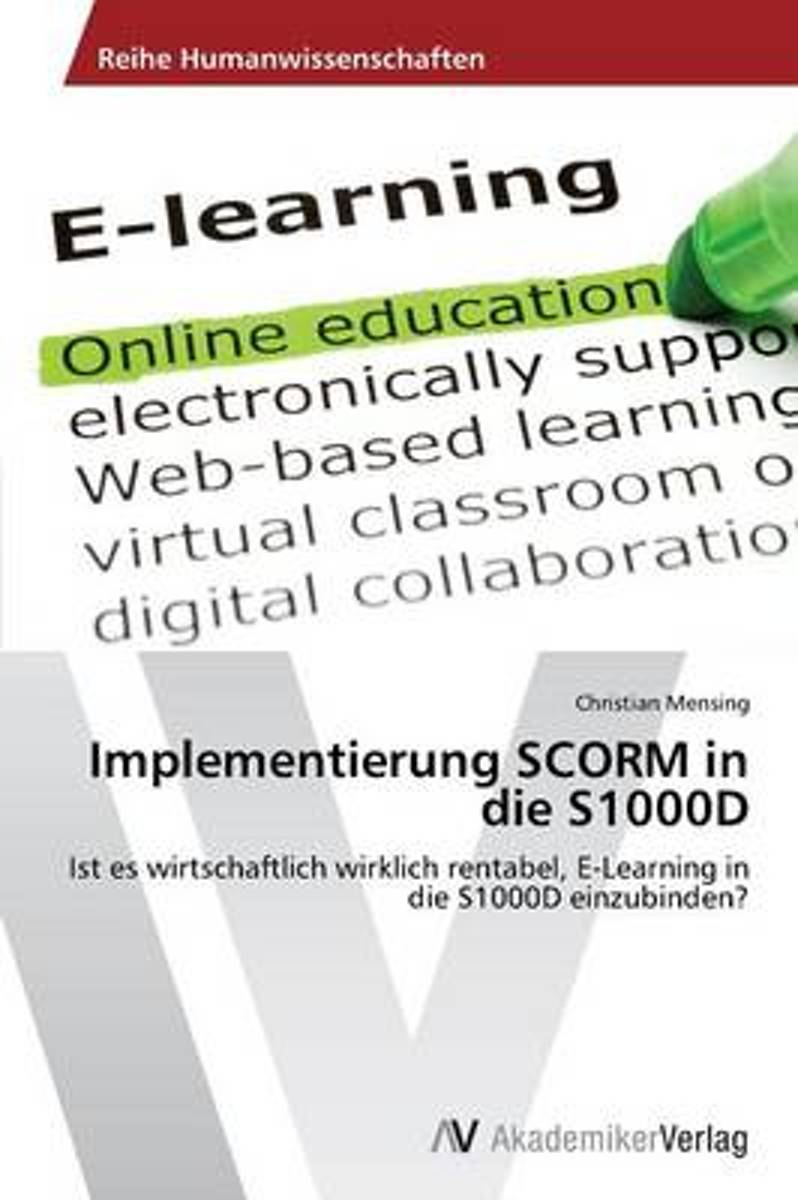 Implementierung Scorm in Die S1000d
