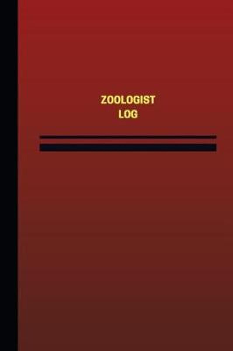 Zoologist Log (Logbook, Journal - 124 Pages, 6 X 9 Inches)