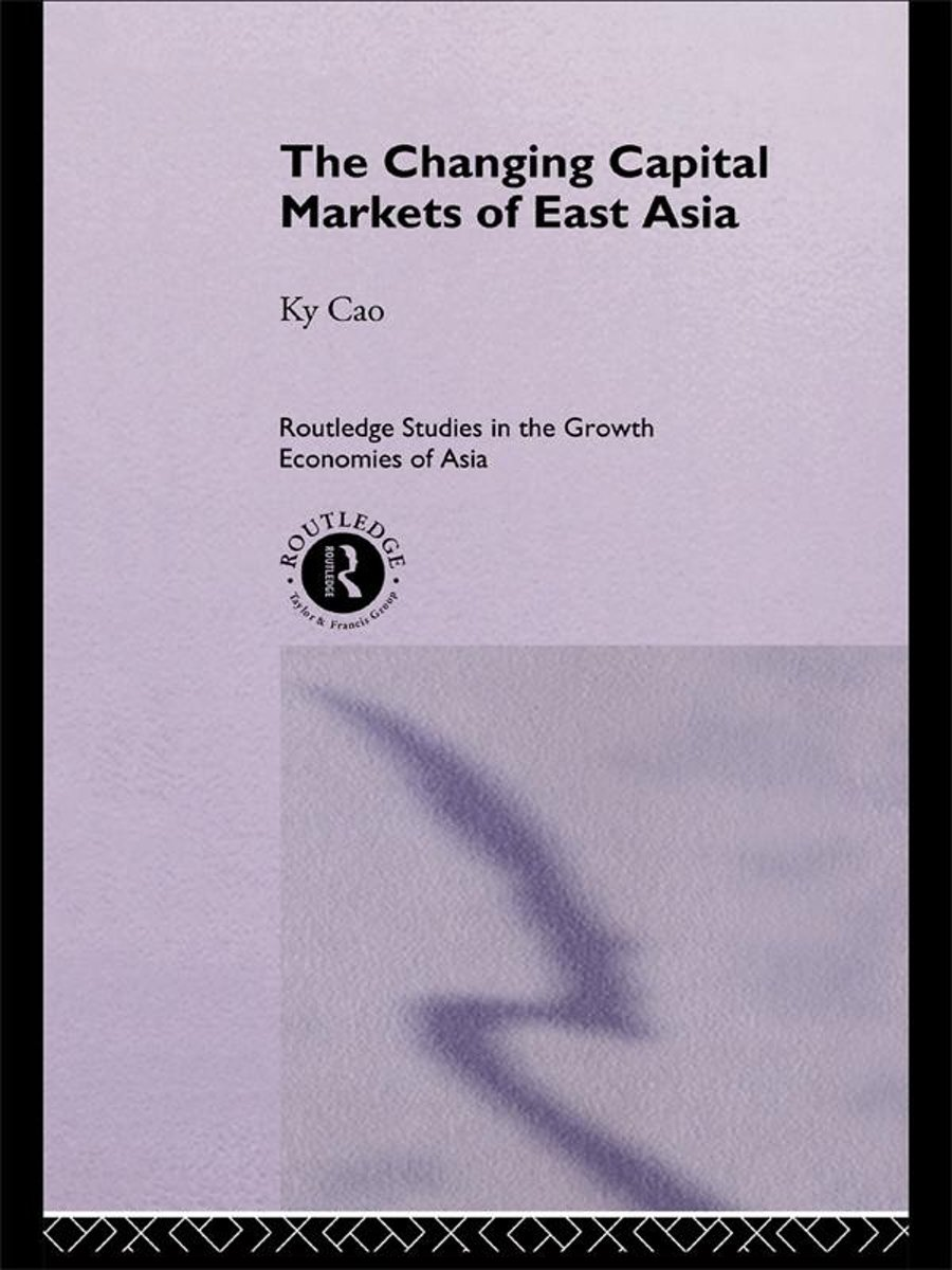The Changing Capital Markets of East Asia