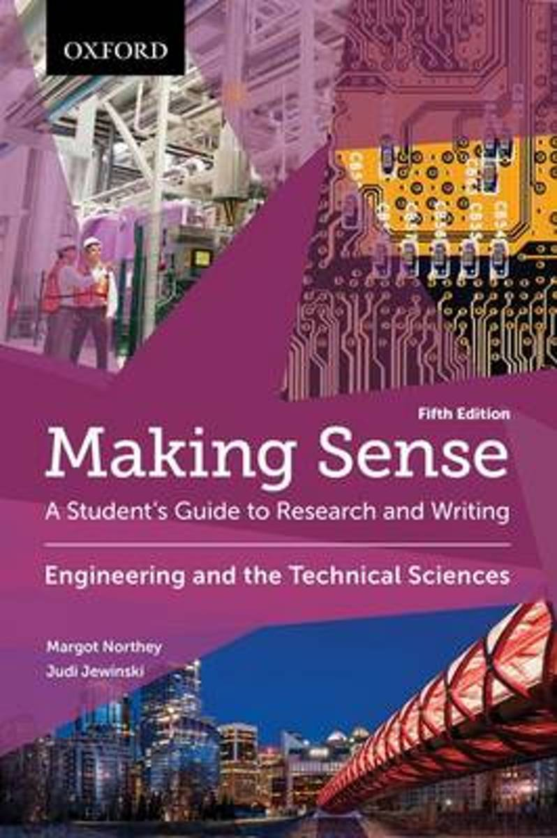 Making Sense in Engineering and the Technical Sciences