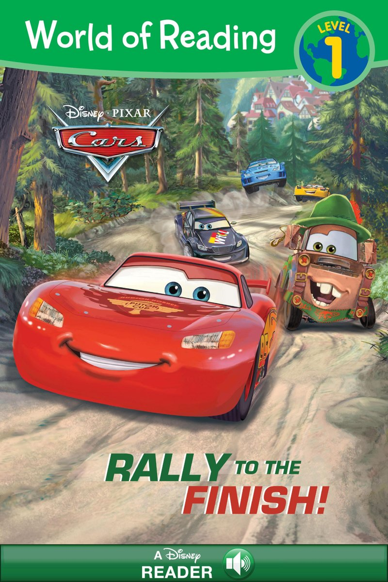 World of Reading Cars: Rally to the Finish