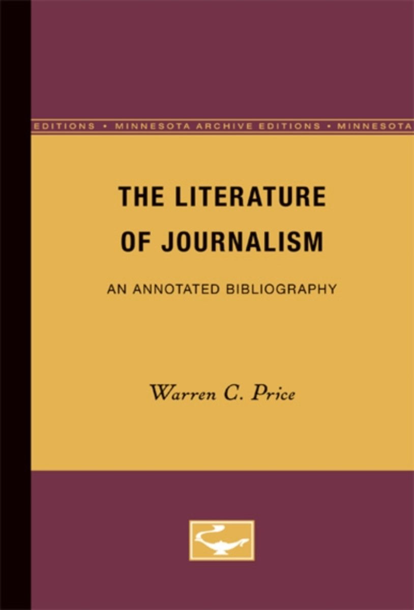 The Literature of Journalism