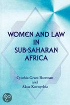 Women And Law In Sub-Saharan Africa