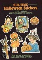 Old-Time Halloween Stickers