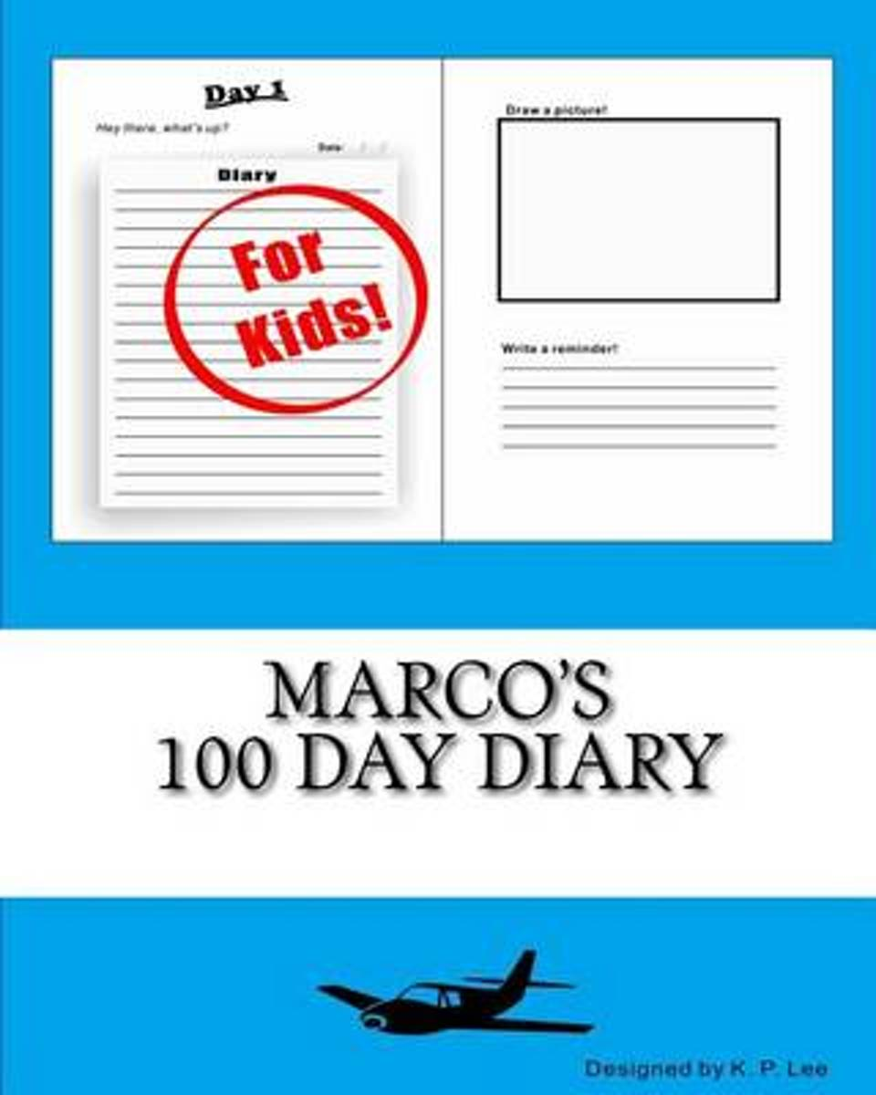 Marco's 100 Day Diary